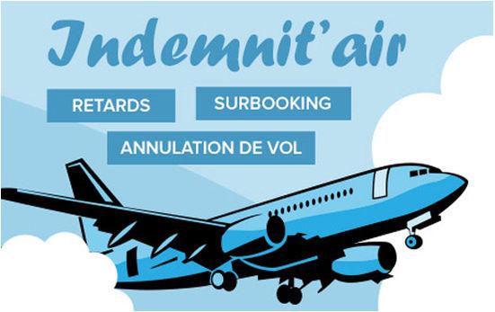 Surbooking, vol retardé, avion annulé – Utilisez notre service Indemnit'Air
