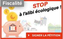 Pétition fiscalité écologique
