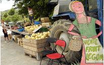 Ventes sauvages de fruits et légumes
