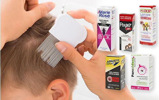 Test - Produits anti-poux
