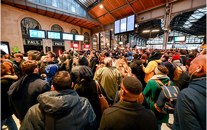 Grèves dans les transports - Avion, train, RATP : comment se faire rembourser