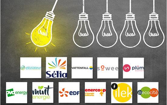 Palmarès des fournisseurs d'électricité