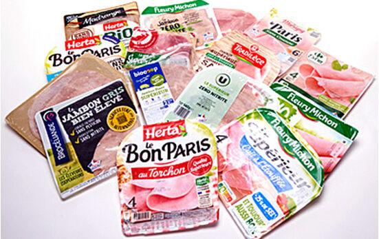 Test - Nitrites et nitrates dans les jambons cuits