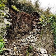 Assurance habitationUne assurée se prend un mur