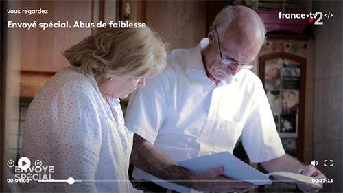Christian Maury, de l'association locale de la Sarthe, est intervenu dans Envoyé spécial.