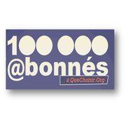 100 000 abonnés à quechoisir.org