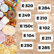 Additifs alimentaires - 87 molécules à éviter
