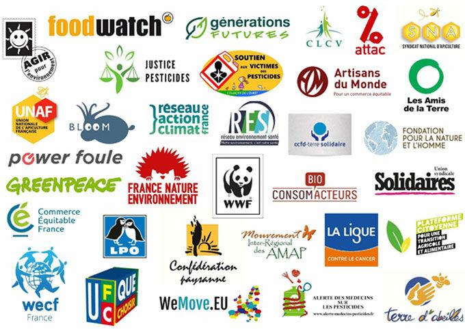 Signataires de la pétition contre le glyphosate