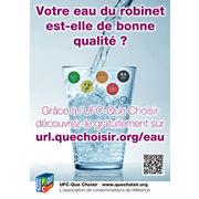 Qualité de l'eau du robinet en FranceLa protection de la ressource  va « à vau l'eau » !