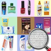Substances indésirables dans les cosmétiquesPlus de 1000 produits épinglés !