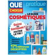 Substances toxiques et indésirables dans les cosmétiques - Un guide pratique Que Choisir pour faire le tri dans la salle de bain