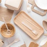 Vaisselle jetable : sans plastique pas sans danger