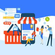 Achats en ligne (infographie)Vous et le e-commerce