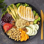 AlimentationUne assiette plus verte que rouge