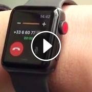 Apple Watch Series 3 (vidéo)Une montre pour téléphoner