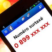 Arnaque aux numéros surtaxésFacebook comme terrain de chasse