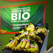 Bananes bioRetrait d'une publicité des producteurs antillais