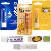 Baumes à lèvresDes composés toxiques dans la moitié des produits testés