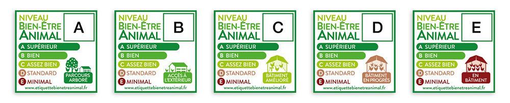 visuel etiquettes bien etre animal