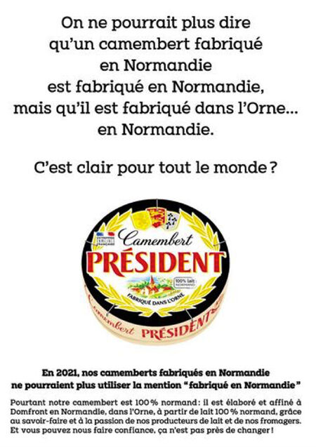 Visuels camembert president encadre 0