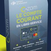 Carrefour banqueDécryptage du compte courant low cost C-Zam