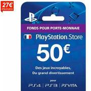 Carte PlayStationCdiscount se prend les pieds dans la promo