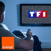Chaînes de TF1 et box d'OrangeLes abonnés pris en étau