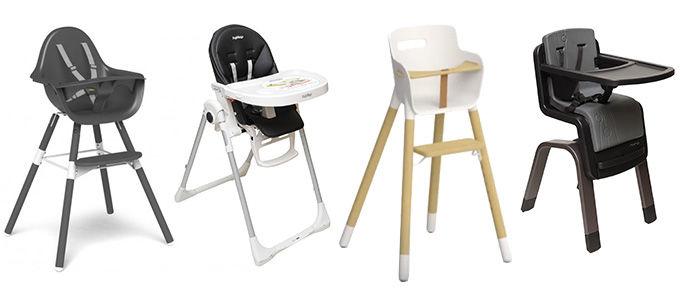 Chaises hautes pour bébés De trop nombreuses défaillances
