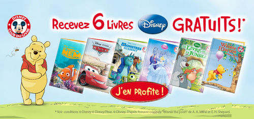 Club Disney Du Livre Collection Sous Condition Actualite