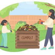 Compost (infographie)Vous et le compostage
