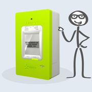 Compteur électrique Linky (infographie)Vous et le compteur Linky