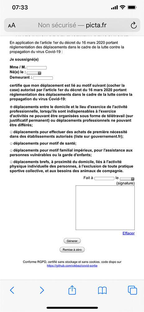 Coronavirus Ce Qu Il Faut Savoir Sur L Attestation De Deplacement Derogatoire Actualite Ufc Que Choisir