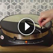 Étaleur de crêpes (vidéo)Prise en main de l'Easy Crêp'