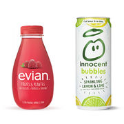 Evian Fruits & Plantes et Innocent Bubbles Des eaux pas si innocentes