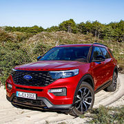 Ford Explorer hybride rechargeable (2020)Premières impressions