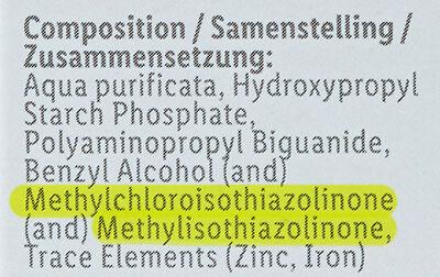 Sensiplast ingrédients