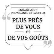 """Grande distributionUn futur logo pour le """"frais et local"""""""