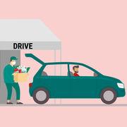 Grandes surfaces (infographie) - Vous et les drives
