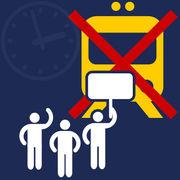 Grève SNCF (infographie)Les usagers évaluent l'information reçue