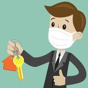 ImmobilierLes visites reprennent avec des précautions