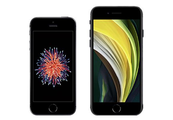 visuel iphone SE premiere derniere generation