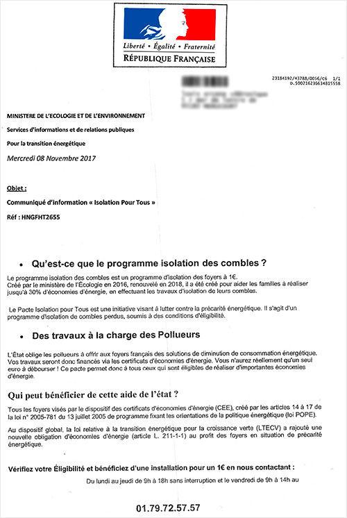 visu-arnaque-isolation-ministere-ecologie