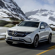 Mercedes EQCPremières impressions
