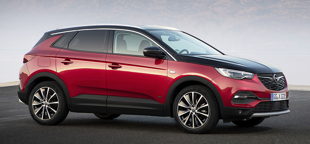 visuel ouverture Opel Grandland X Hybrid