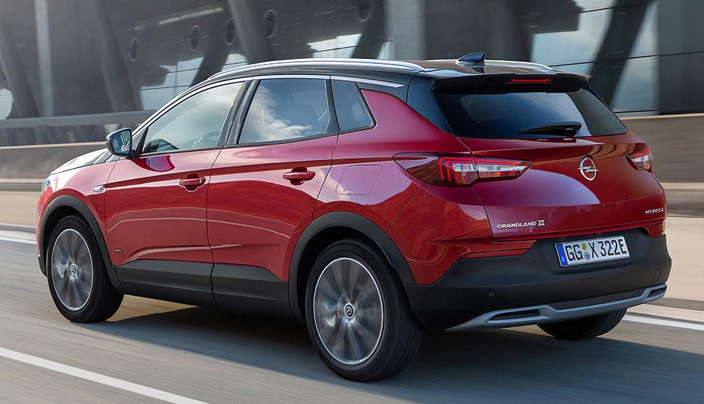 visuel fin Opel Grandland X Hybrid