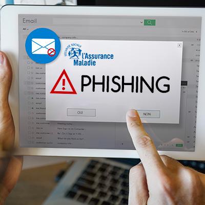 Phishing assurance maladie - 3 clés pour repérer la tentative d'arnaque - Actualité - UFC-Que Choisir