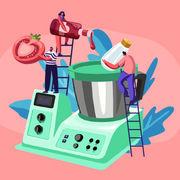 Robot cuiseur (infographie)Vous et votre robot cuiseur