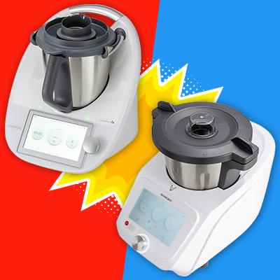 Robots Cuiseurs Le Match Thermomix Tm6 Et Monsieur Cuisine