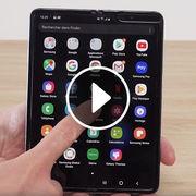 Samsung Galaxy Fold (vidéo)Prise en main