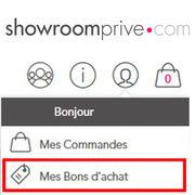 Showroomprive.comLe gros couac des bons d'achat à 50 €